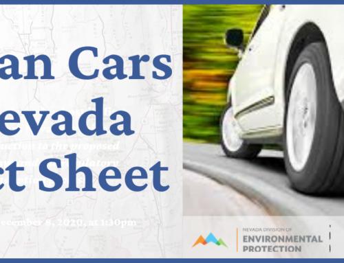 Fact Sheet: Clean Cars Nevada
